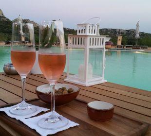Begrüßungscocktail am Abend Hotel Parco Degli Ulivi