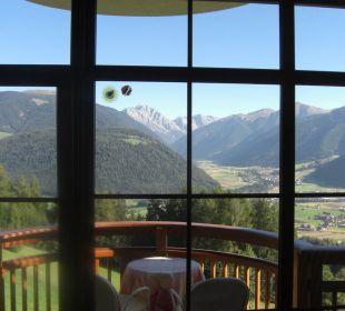 Ausblick aus dem Zimmer Alpin Panorama Hotel Hubertus