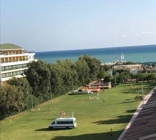 Top Ausblick von unserem Zimmer Belek Beach Resort Hotel