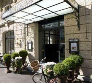 Eingang Hotel Europe