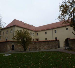 Hotel Fronfeste Amberg Rückseite zur Stadtmauer Hotel Fronfeste