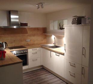 Küche Appartment Siebenschläfer Schwandenhof Ferienwohnungen