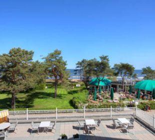 Promenaden-/Meerblick aus einer 3-Raum-Wohnung Haus Seeblick Hotel Garni & Ferienwohnungen