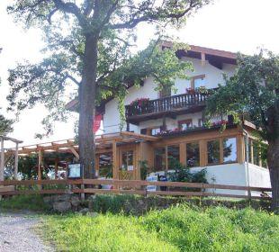 Hotel von vorne Berggasthaus Kraxenberger