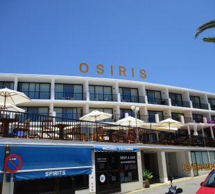 Außenansicht Hotel Osiris