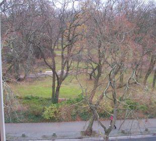 Blick zum Kurpark KurparkHotel Warnemünde