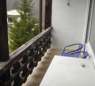 Balkon Forsthaus Graseck (Vorgänger-Hotel – existiert nicht mehr)