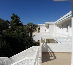 Zugang Hotel Karavos
