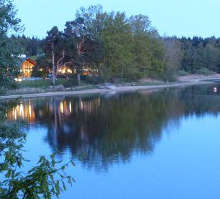 Saunabereich mit Beleuchtung Hotel Sole-Felsen-Bad