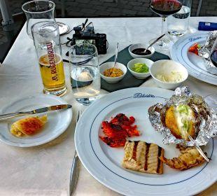 Abends BBQ mit Fisch & Fleisch Belvédère Strandhotel