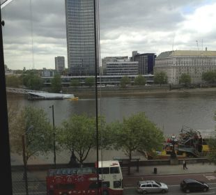 View on the Thames Park Plaza Riverbank London