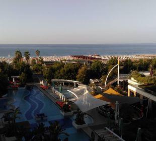 Blick am Morgen TUI Sensimar Side Resort & Spa