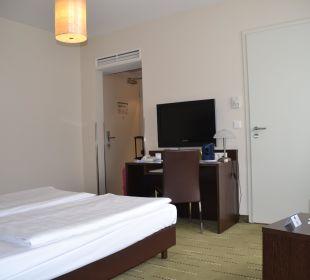 Doppelbett Best Western Hotel am Spittelmarkt