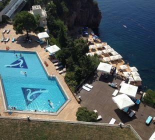 Poolanlage Hotel Divan Antalya Talya