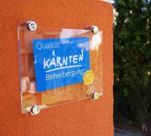 Kärntner Qualitätssiegel Gästehaus Gertrude