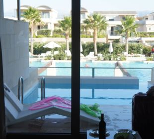 Unsere Terasse mit priv. Pool Hotel Resort & Spa Avra Imperial Beach