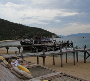 Bootsanleger Hotel Six Senses Ninh Van Bay