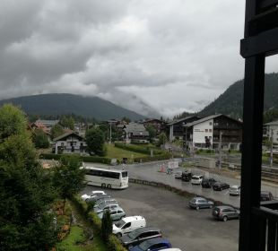 Ausblick Hotel Karwendelhof