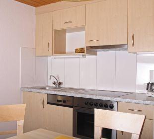 Wohnküche Dachwohnung Appartements Kraft Christian