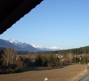 Blick auf die Berge der Umgebung Hotel Kärntnerhof