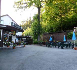Haupteingang Hotel Waldmühle