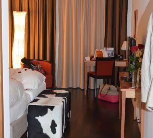 Geschmackvolles Zimmer Hotel Pilatus-Kulm