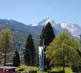 Ausblick Hotel Zugspitze