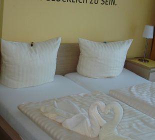 Super kuscheliges Bett Aparthotel Strandhus