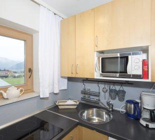 Familienappartement Alpbachtal (52 m2) Küche Angerer Familienappartements Tirol