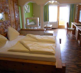 Wohlfühlzimmer Zirbennest Hotel Winzer Wellness & Kuscheln
