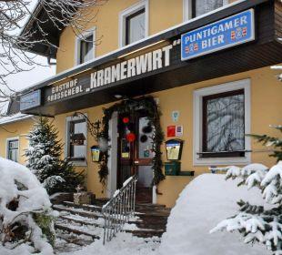 """Auch im Winter ist es schön beim """"Kramerwirt"""" Gasthaus Kramerwirt"""