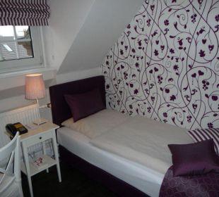 Einzelzimmer 'Spatzennest' Hotel Residence Bremen