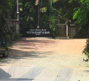 Einfahrt Amal Villa