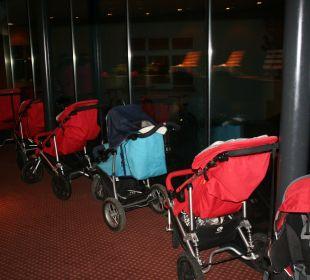 Kinderwägen zum Wandern Gorfion - Das Familienhotel