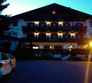Hotel abends Hotel Hubertushof