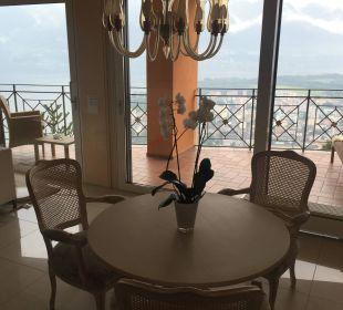 Esszimmer Villa Orselina Boutique Hotel