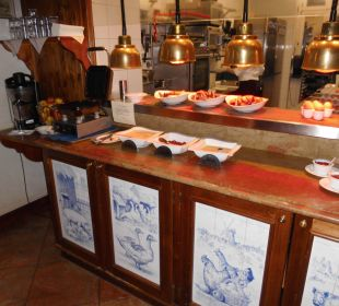 Blick in die Küche  Strandhotel Heringsdorf