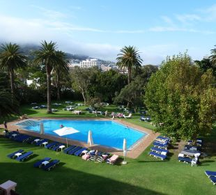 Blick auf den Pool Belmond Mount Nelson Hotel