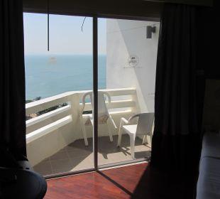 Blick aus dem Zimmer Hotel Grand Jomtien Palace