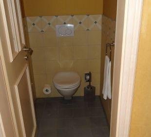 Toilette separat Lenkerhof gourmet spa resort