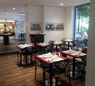 Frühstücksraum art & business hotel