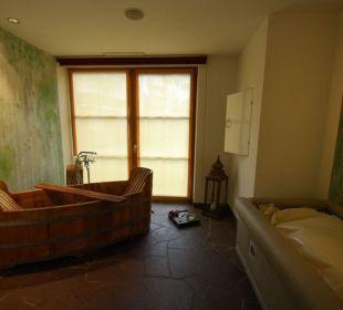 Bad im Bottich Hotel Taubers Unterwirt