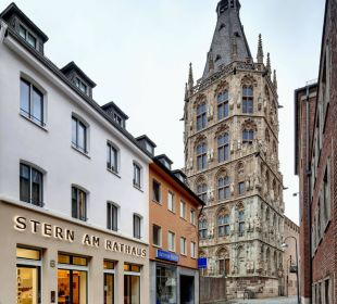 Außenansicht Hotel Stern am Rathaus