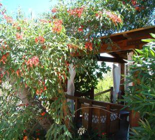 Der schönste Platz im Garten Hotel Cruccuris Resort