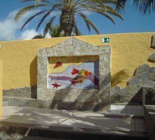 Eingang zu den Appartements Hotel Rocamar Beach