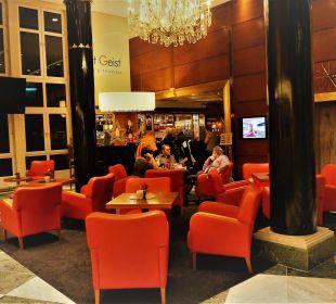 Ausschnitt der Lobby vom Mondi Bellevue MONDI-HOLIDAY First-Class Aparthotel Bellevue
