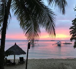 Abendstimmung Hotel Sipalay Easy Diving and Beach Resort