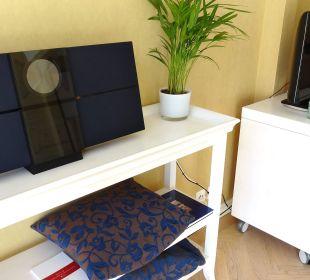 Stereoanlage und TV Lenkerhof gourmet spa resort