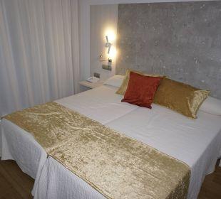 Schlafbereich Hotel Abrat