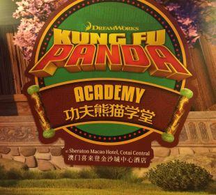 Kung Fu Academy  Hotel Sheraton Macao